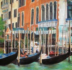 Art: Venice by Lisa Thornton Whittaker