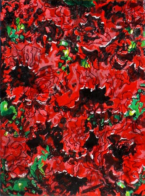 Art: Terri's Poppies by Artist Lisa Thornton Whittaker