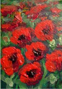 Detail Image for art Terri's Poppies