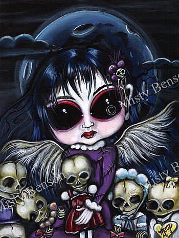 Art: Bring Them To Life by Artist Misty Monster (Benson)