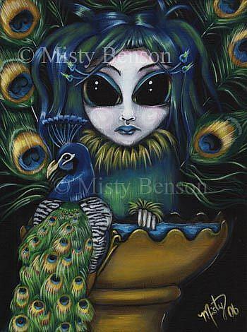 Art: Baptism by Artist Misty Monster (Benson)
