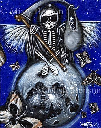 Art: Sowing Stars by Artist Misty Monster (Benson)