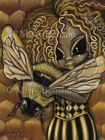 Art: Haunting Honey by Artist Misty Monster (Benson)
