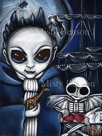 Art: Shores of Eternity by Artist Misty Monster (Benson)