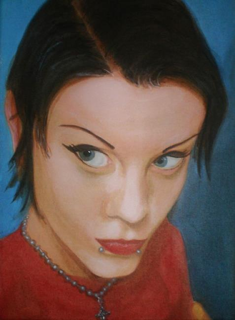 Art: Brooke E. by Artist Lisa Thornton Whittaker