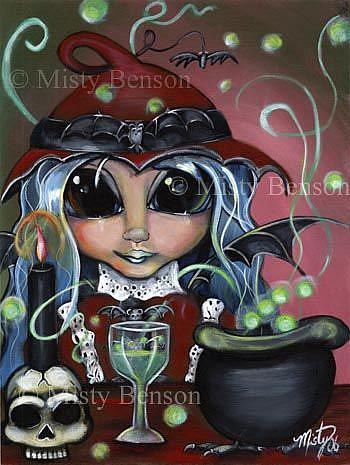Art: Batty Brew by Artist Misty Monster (Benson)