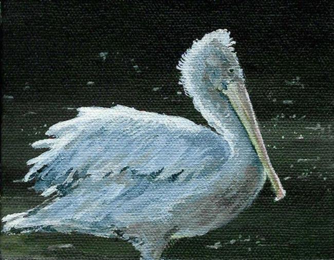 Art: Pelican (Sold) by Artist Kimberly Vanlandingham
