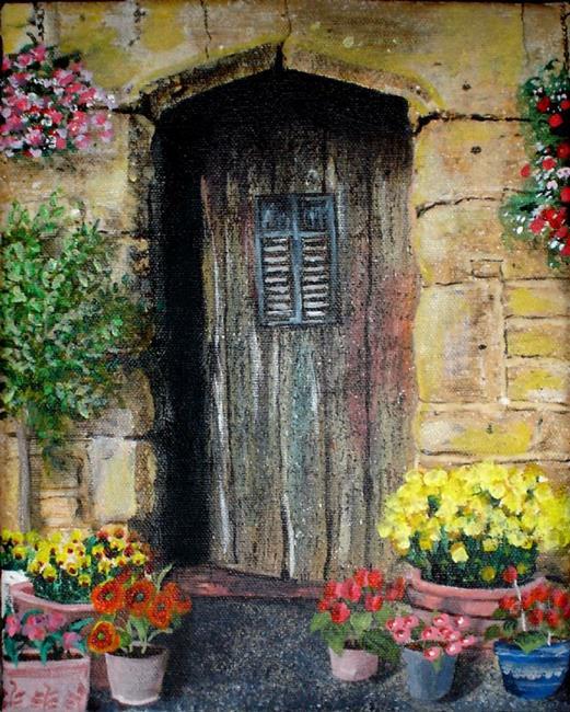 Art: Welcome by Artist Lisa Thornton Whittaker