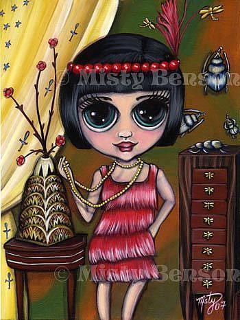 Art: Flapper Fantasy by Artist Misty Monster (Benson)