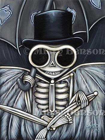 Art: Dapper Skelly by Artist Misty Monster (Benson)