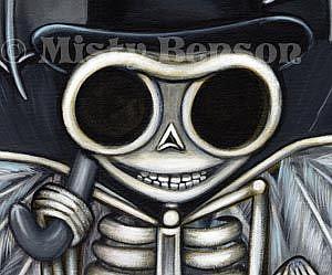 Detail Image for art Dapper Skelly