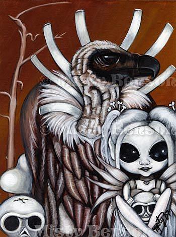 Art: Bone Collectors by Artist Misty Monster (Benson)