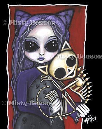 Art: Faeline Faery by Artist Misty Monster (Benson)