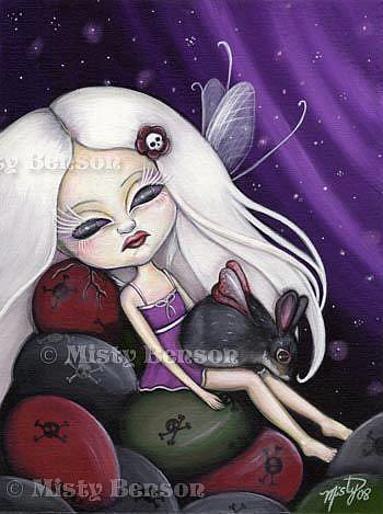 Art: Moon Kissed Equinox by Artist Misty Monster (Benson)