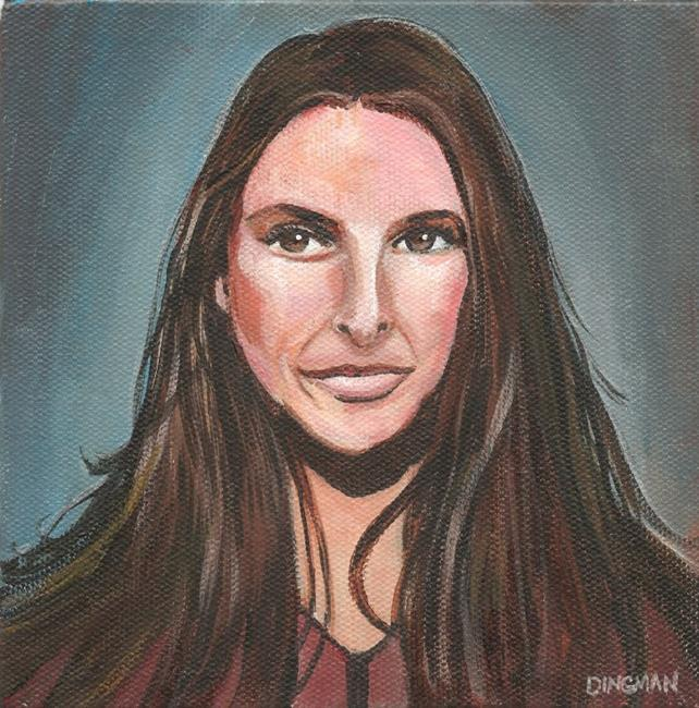 Art: Beautiful Loredana by Artist Aimee L. Dingman