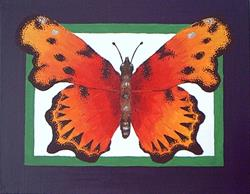 Art: Butterfly #1 (Private Collection) by Artist Kimberly Vanlandingham