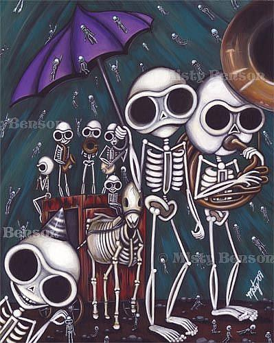 Art: Death from the Morbidly Adorable Tarot by Artist Misty Monster (Benson)