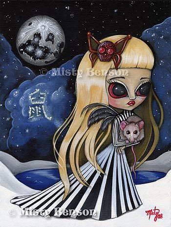 Art: Year of the Rat by Artist Misty Monster (Benson)