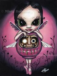 Art: Love Daruma Faery by Artist Misty Benson