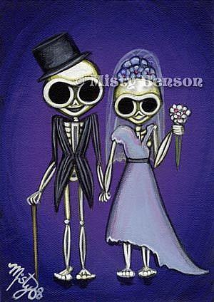 Art: Wedding Couple by Artist Misty Monster (Benson)
