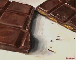 Art: Chocolate Temptation by Artist Aimee L. Dingman