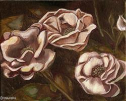 Art: Tapestry Roses by Artist Aimee L. Dingman