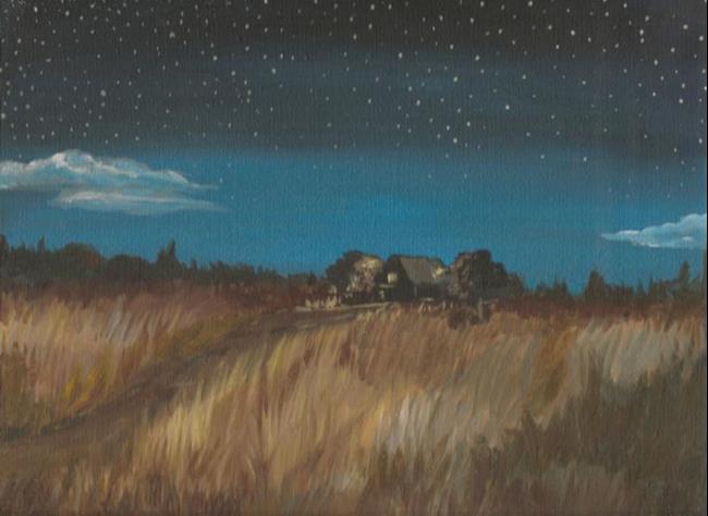 Art: Summer Night by Artist Aimee L. Dingman
