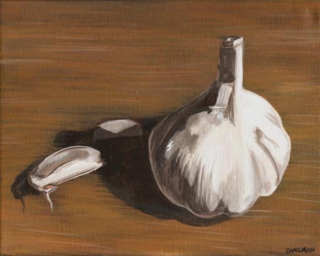 Art: Garlic by Artist Aimee L. Dingman