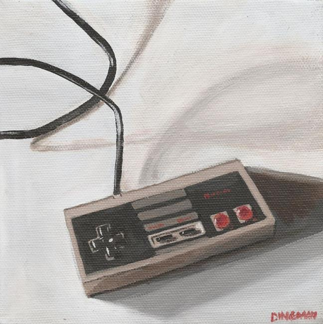 Art: A Nintendo Controller by Artist Aimee L. Dingman