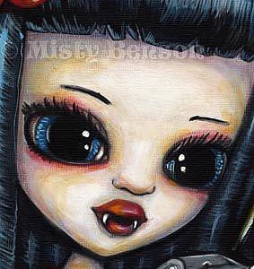 Detail Image for art Vampires Like Garlic, Too