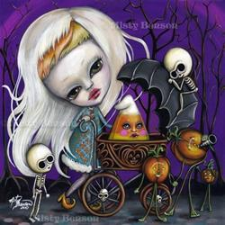 Art: Every Day Is Halloween by Artist Misty Benson