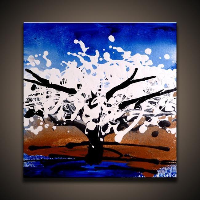 Art: Blooming Tree by Artist Peter D.