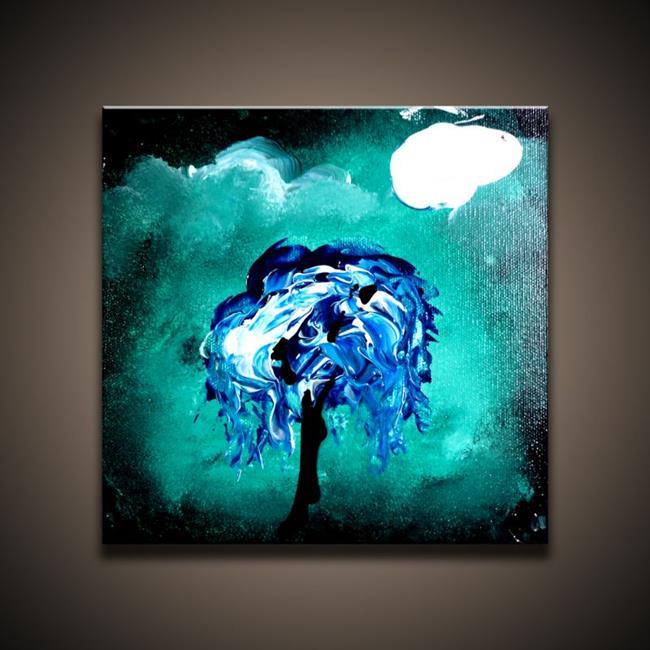 Art: Under the Night Sky by Artist Peter D.
