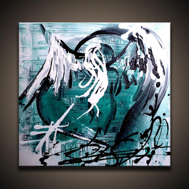 Art: Appearance of Angel by Artist Peter D.