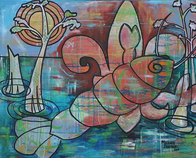 Art: Louisiana Crawfish Gumbo by Artist Melanie Douthit