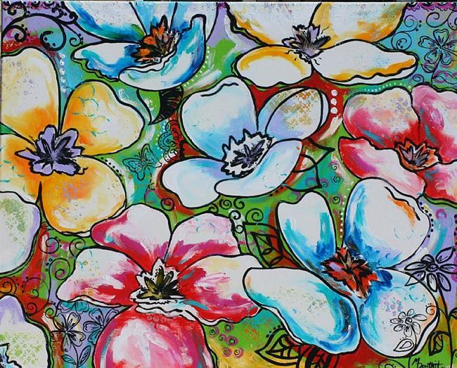 Art: Secret Garden by Artist Melanie Douthit