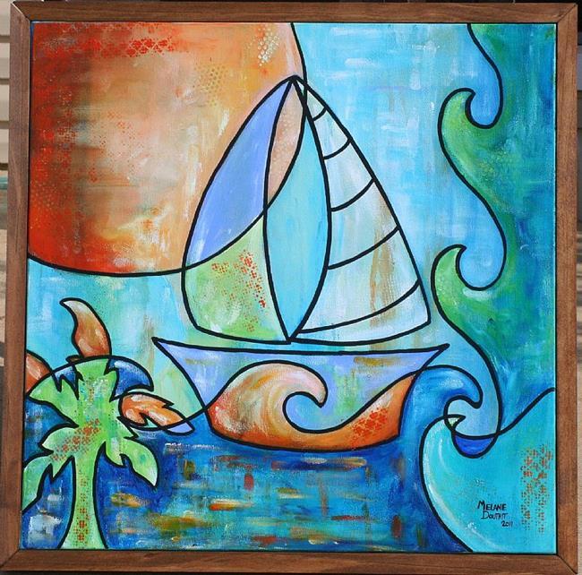 Art: Set Sail (SOLD) by Artist Melanie Douthit