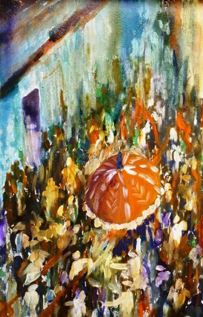 Art: Procession by Artist Parag Pendharkar