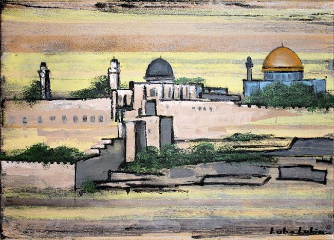 Art: Jerusalem - Old City (s) by Artist Luba Lubin