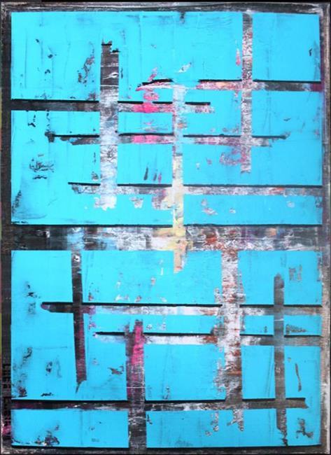 Art: Abstraction 45 (s) by Artist Luba Lubin