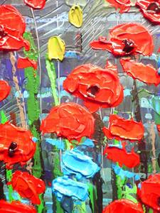 Detail Image for art Red Poppies (s)