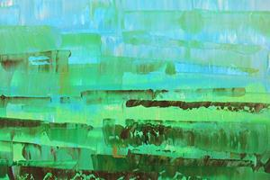 Detail Image for art Blue-Green Abstraction 127 (s)