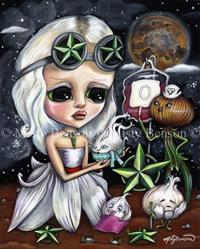 Art: Morbidly Adorable Tarot - Five Of Stars by Artist Misty Benson