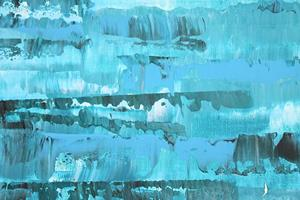 Detail Image for art Blue - Turquoise - Aqua - Abstraction 126 (s)