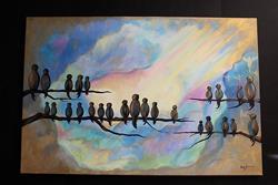 Art: Spiritual Tribute by Artist Stacey R. Zimmerman