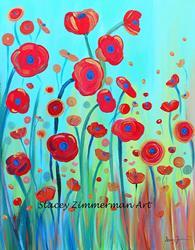 Art: Spring Musings by Artist Stacey R. Zimmerman