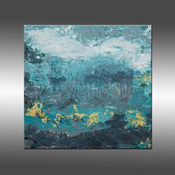 Art: Blue Planet by Artist Hilary Winfield