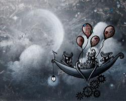 Art: The guiding star by Artist Jaime Zatloukal Best