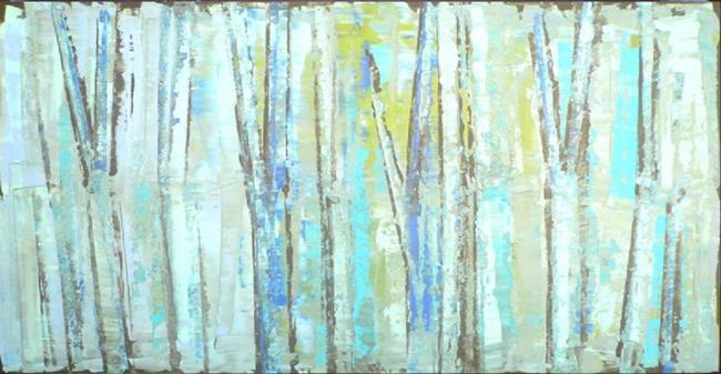 Art: Blue Grove 147 (s) by Artist Luba Lubin