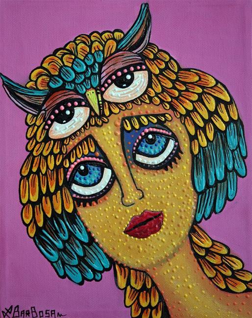 Art: Bird Brain by Artist Laura Barbosa